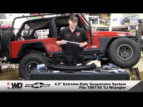 Rubicon Express SK010504RXT 4.5 Twintube Shock for Jeep YJ
