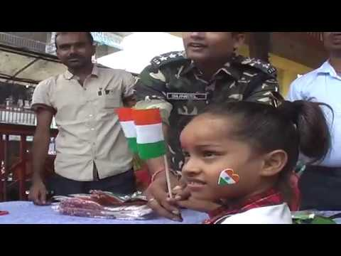 Jhanda Vitran Samaroh Before 15 August Indian Flag On Gandhi Chowk Youtube