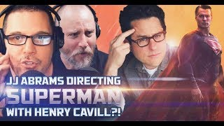 JJ Abrams Doing Superman with Henry Cavill???! - SEN LIVE #142