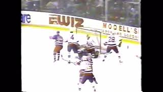 March 1 1993 Rangers at Islanders SportsCenter highlights