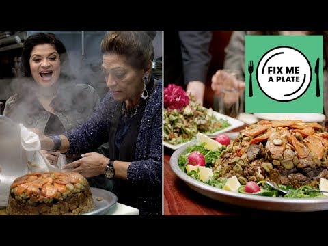 Traditional Middle Eastern Food at Tanoreen with Alex Guarnaschelli | Food Network