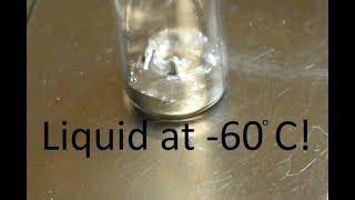 Thallium Mercury Fusible Alloy