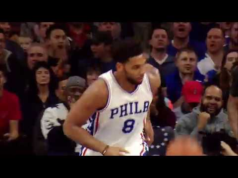 Jahlil Okafor Power His Way Into the Paint For the Dunk