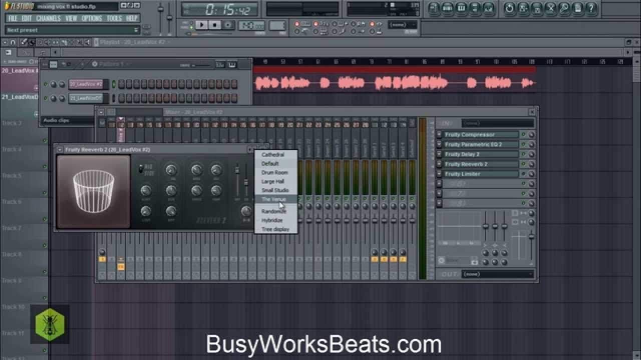 how to mix in fl studio