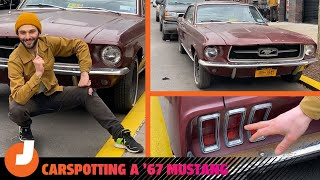 homepage tile video photo for Everything You Hate About New Car Styling Is On This 1967 Mustang