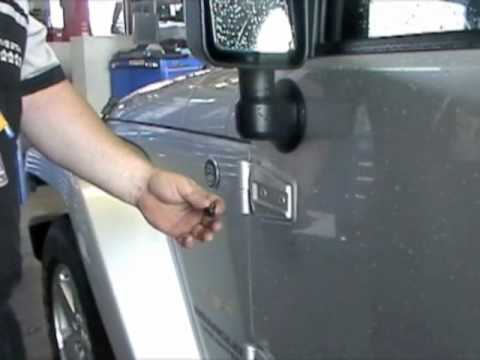 Planet Dcj How To Remove Jeep Wrangler Doors Youtube