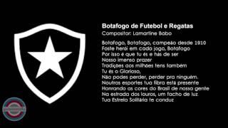 Hino do Botafogo do Rio ( Hino Popular )