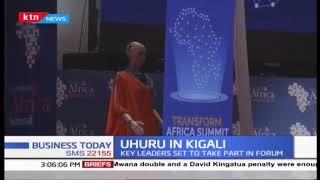 President Uhuru attends transform Africa in Kigali