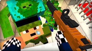 Я тебя ни за что не брошу [ЧАСТЬ 10] Зомби апокалипсис в майнкрафт! - (Minecraft - Сериал)