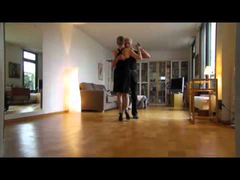 Tango adept Madeleine after 9 months tango dancing, from scratch Travel Video