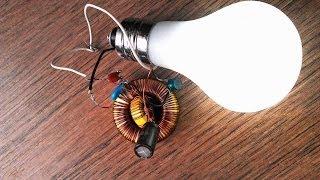 Repeat youtube video Original Free Energy Generator fort Led Bulb