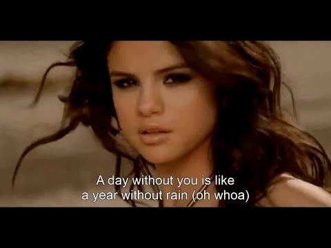 Selena Gomez & The Scene - A Year Without Rain HD (Music Video + Lyrics)