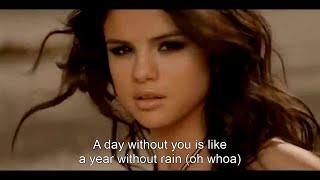 Selena Gomez & The Scene - A Year Without Rain HD (Music Video + Lyrics)