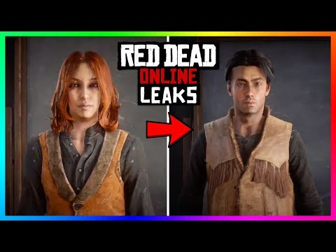 NEW Red Dead Online Update! Switching Genders, Changing Character Appearance & MORE! (RDR2 Online)