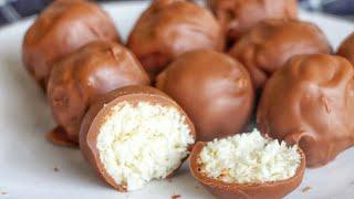 Домашние конфеты БАУНТИ???? БЫСТРЫЙ и ПРОСТОЙ Рецепт