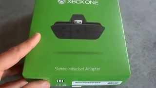 UNBOXING Adaptateur Stéréo headset Xbox One Fr Hd