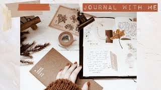 Journal with me + supply haul //