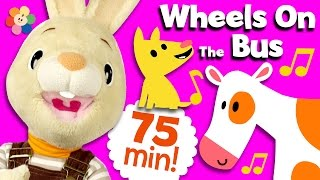 Wheels on The Bus, Twinkle Twinkle collection with Harry The Bunny | Nursery Rhymes | BabyFirst