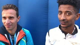 Firenze Marathon 2016: intervista a Faniel Eyob Ghebrehiwet