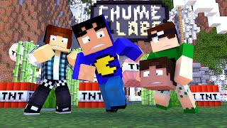 Minecraft: EXPLODIMOS A CHUME LABS! - MINI-GUERRA
