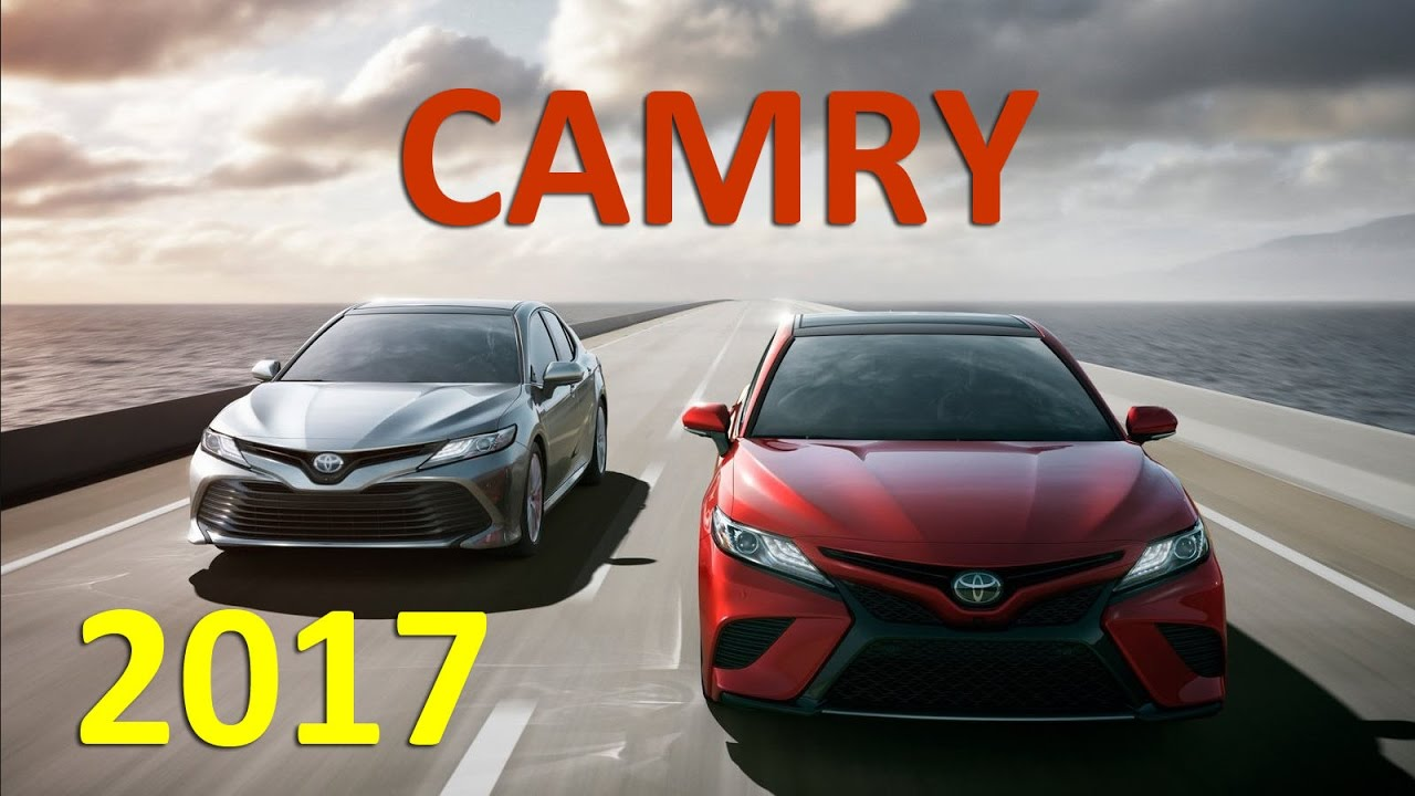 New Toyota CAMRY 2017 - preview Александра Михельсона