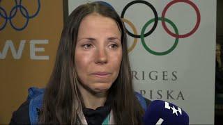 Här kan Kalla inte hålla tillbaka tårarna efter att ha kommit hem - Nyheterna (TV4)
