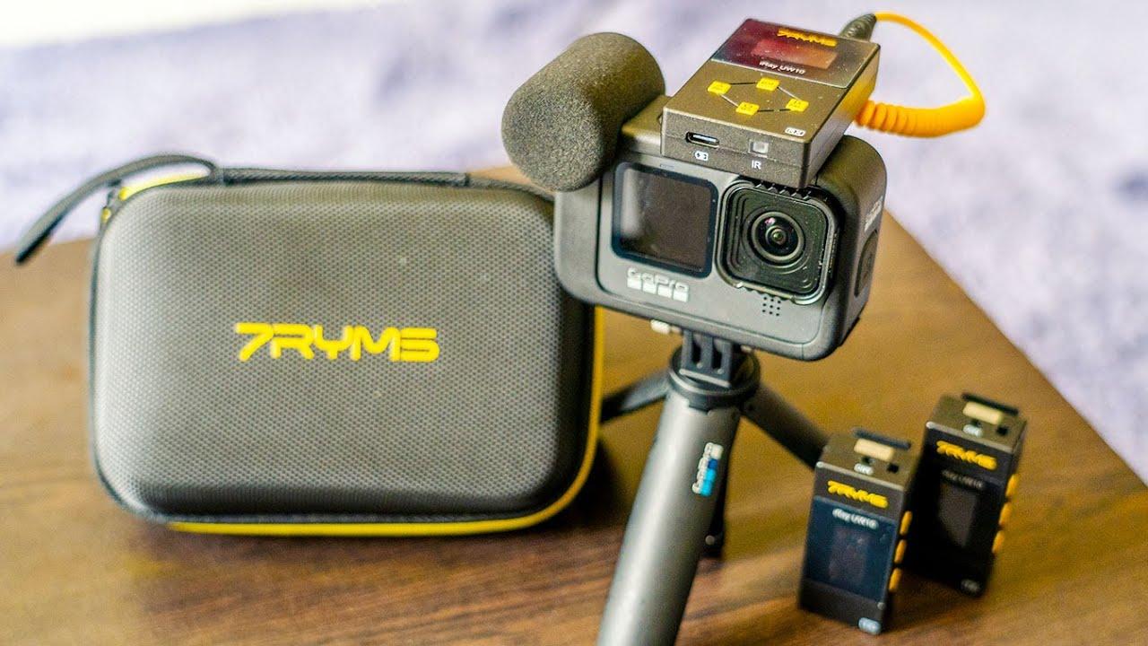 Mini Wireless Microphone 7RYMS iRay UW10 | RehaAlev
