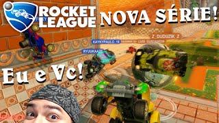 Rocket League NOVA SÉRIE: JOGANDO COM VOCÊS E JÁ UMA PARTIDA ÉPICA!