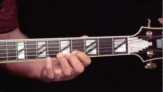 bebop improvisation 4 outlining ab7 guitar lesson fareed haque