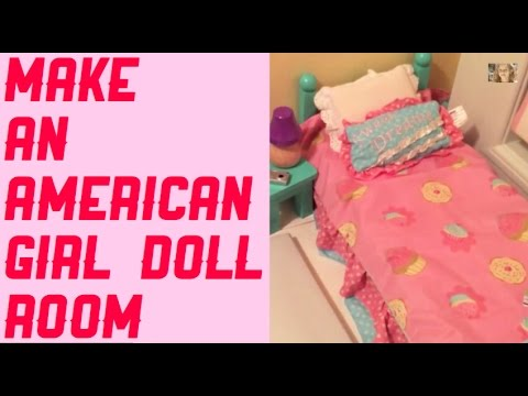 how to make an american girl doll room - How To Make A American Girl Room