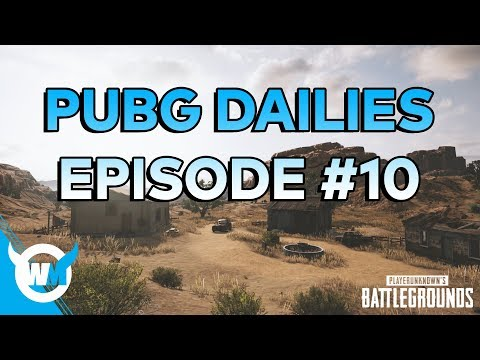 PUBG Dailies Episode #10 1708 Rating Duo Gameplay Review - How to Get Better at Battlegrounds!