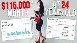 HOW I MAKE $115,000/MONTH ON AMAZON AND SHOPIFY 💰