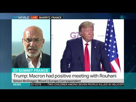 Trump open to meeting with Iran's Rouhani