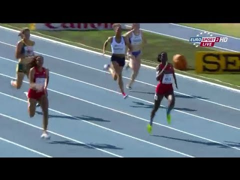 Candace Hill 22.43 Breaks 200m World Youth Record!!!
