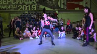 Ghetto Blaster 2013 | dancehall battle | Anastacia IceCreamCrew vs Julia Thumbnail