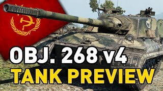 World of Tanks || Object 268 - Tank Preview