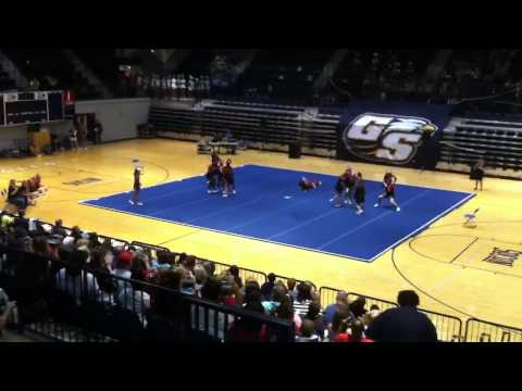 Screven county middle school cheer comp 2013