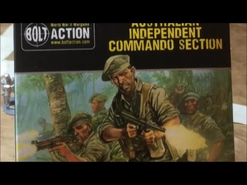 A Look at Warlord Games Australian Independent Commando Section