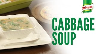 Cabbage Soup Recipe by Knorr
