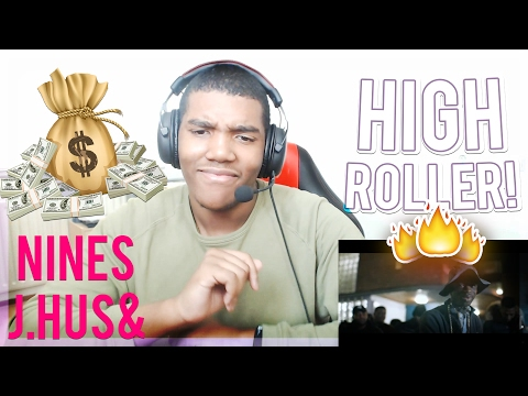 Nines - High Roller feat. J Hus (Official Video) - REACTION!!