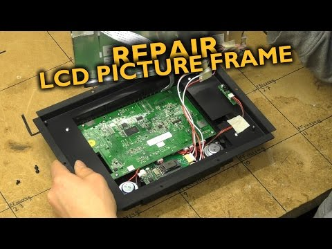 Quick LCD picture frame repair (including the worst audio decoding ever)