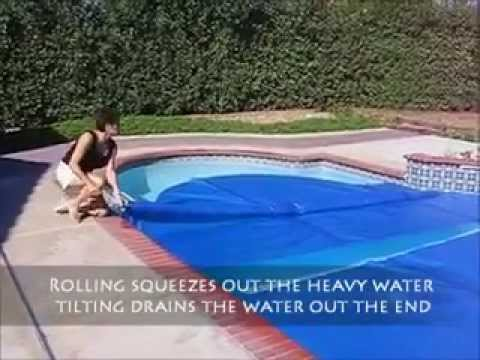 Homemade Pool Solar Cover Reel Doovi