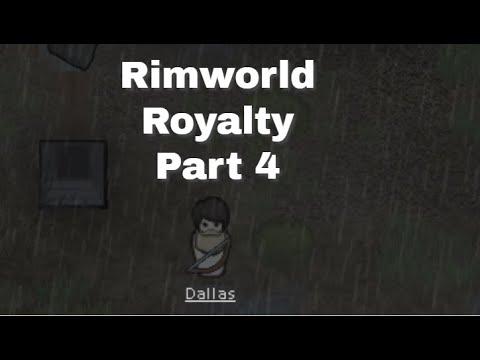 Crashed Shuttle - Rimworld Royalty Part 4  