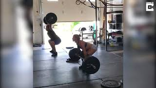 CrossFit Athlete Has Weight Lifting Fall
