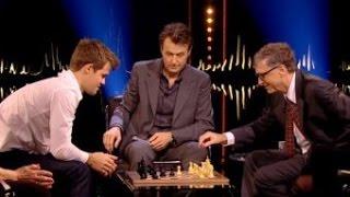 Magnus Carlsen - Bill gates : la partie d'échecs