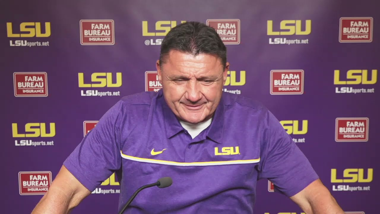 Derek Stingley Jr. 'very questionable' for Mississippi State, says Ed Orgeron: Full press conference