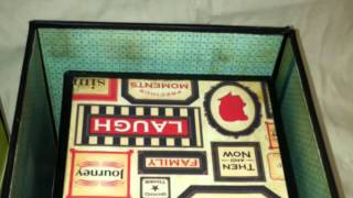 Vintage Exploting Sewing Boxes
