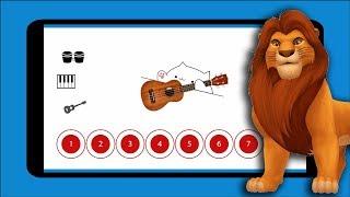The Lion Sleeps Tonight Tune — Bongo Cat Musical Instruments
