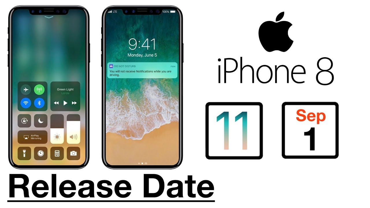 apple release date iphone 8