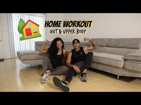 Home Workout | HIIT & Upper Body